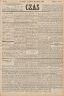 Czas. R.46, Ner 73 (30 marca 1893)