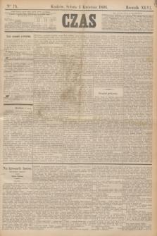 Czas. R.46, Ner 75 (1 kwietnia 1893)