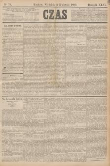 Czas. R.46, Ner 76 (2 kwietnia 1893)