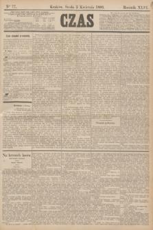 Czas. R.46, Ner 77 (5 kwietnia 1893)