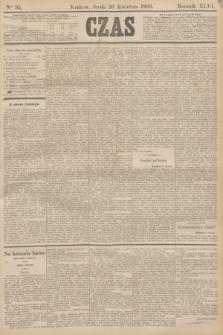 Czas. R.46, Ner 95 (26 kwietnia 1893)