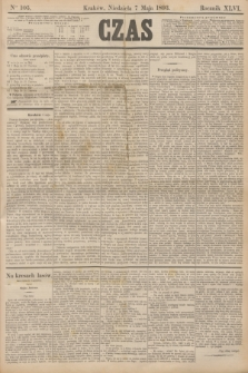 Czas. R.46, Ner 105 (7 maja 1893)