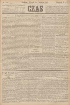 Czas. R.46, Ner 138 (20 czerwca 1893)