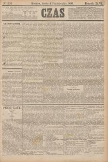 Czas. R.46, Ner 226 (4 października 1893)