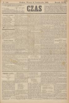 Czas. R.46, Ner 249 (31 października 1893)