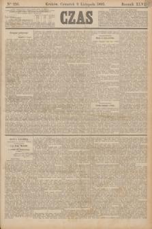 Czas. R.46, Ner 256 (9 listopada 1893)