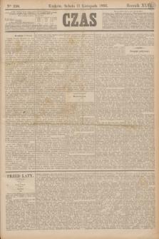 Czas. R.46, Ner 258 (11 listopada 1893)