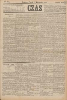 Czas. R.46, Ner 263 (17 listopada 1893)