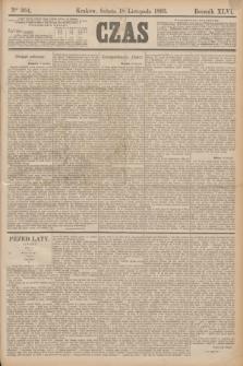Czas. R.46, Ner 264 (18 listopada 1893)