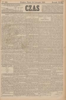 Czas. R.46, Ner 269 (24 listopada 1893)