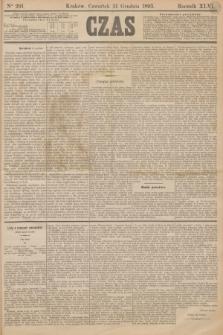 Czas. R.46, Ner 291 (21 grudnia 1893)