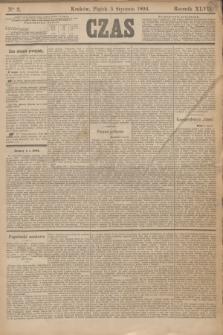 Czas. R.47, Ner 3 (5 stycznia 1894)