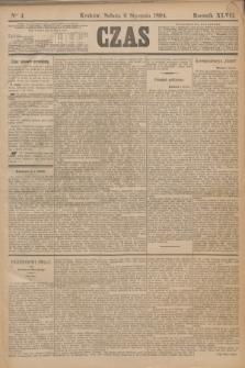 Czas. R.47, Ner 4 (6 stycznia 1894)