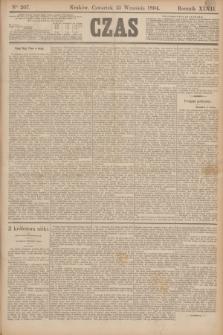 Czas. R.47, Ner 207 (13 września 1894)