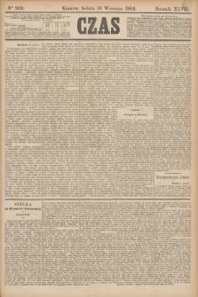 Czas. R.47, Ner 209 (15 września 1894)