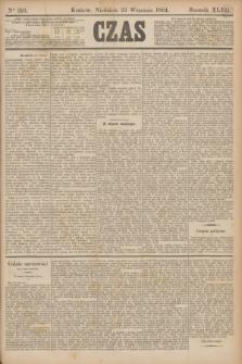 Czas. R.47, Ner 216 (23 września 1894)