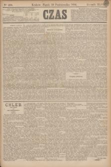 Czas. R.47, Ner 238 (19 października 1894)