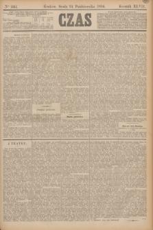 Czas. R.47, Ner 242 (24 października 1894)