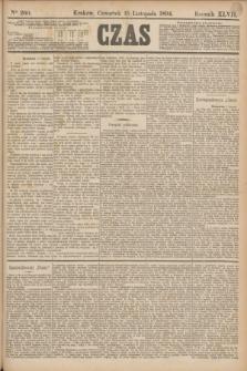 Czas. R.47, Ner 260 (15 listopada 1894)