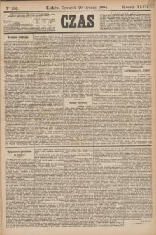 Czas. R.47, Ner 289 (20 grudnia 1894)