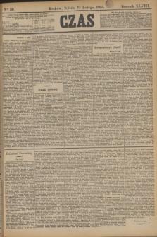 Czas. R.48, Ner 39 (16 lutego 1895)