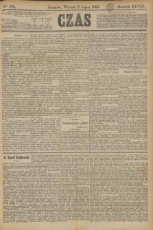 Czas. R.48, Ner 154 (9 lipca 1895)