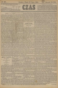 Czas. R.48, Ner 157 (12 lipca 1895)