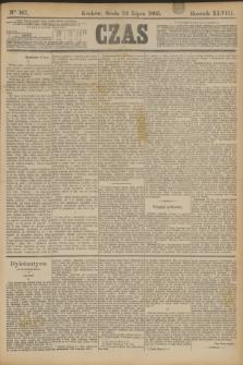 Czas. R.48, Ner 167 (24 lipca 1895)