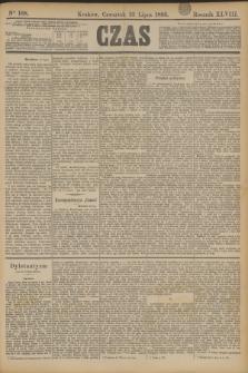 Czas. R.48, Ner 168 (25 lipca 1895)