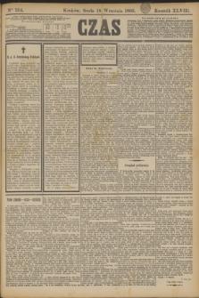 Czas. R.48, Ner 214 (18 września 1895)
