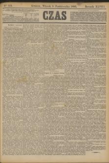 Czas. R.48, Ner 231 (8 października 1895)