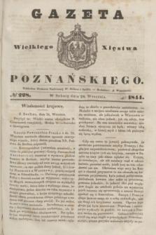 Gazeta Wielkiego Xięstwa Poznańskiego. 1844, № 228 (28 września)