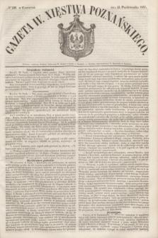 Gazeta W. Xięstwa Poznańskiego. 1853, № 239 (13 października)