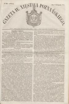 Gazeta W. Xięstwa Poznańskiego. 1853, № 262 (9 listopada)