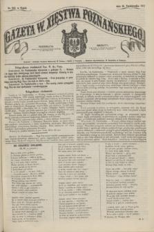 Gazeta W. Xięstwa Poznańskiego. 1857, nr 242 (16 października)