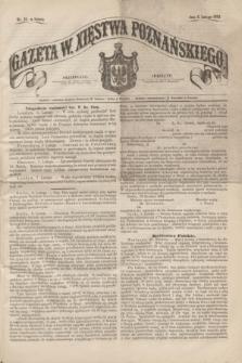 Gazeta W. Xięstwa Poznańskiego. 1862, nr 33 (8 lutego) + dod.