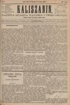 Kaliszanin : gazeta miasta Kalisza i jego okolic. R.7, № 12 (11 lutego 1876)
