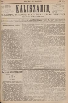 Kaliszanin : gazeta miasta Kalisza i jego okolic. R.7, № 23 (21 marca 1876)