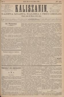 Kaliszanin : gazeta miasta Kalisza i jego okolic. R.7, № 26 (31 marca 1876)