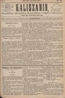 Kaliszanin : gazeta miasta Kalisza i jego okolic. R.7, № 30 (14 kwietnia 1876)