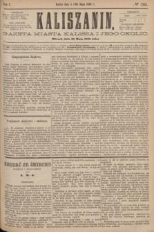 Kaliszanin : gazeta miasta Kalisza i jego okolic. R.7, № 38 (16 maja 1876)