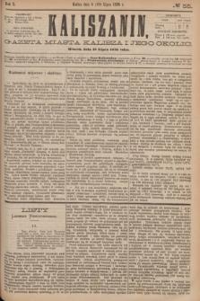 Kaliszanin : gazeta miasta Kalisza i jego okolic. R.7, № 55 (18 lipca 1876)