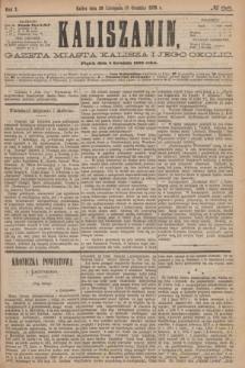 Kaliszanin : gazeta miasta Kalisza i jego okolic. R.7, № 96 (8 grudnia 1876)