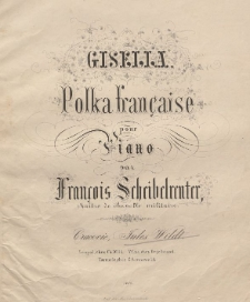Impromptu-polka tremblante : pour le piano