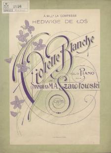 Violette blanche : pour piano : op. 15