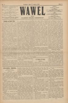 """Wawel : organ """"Polskiego Związku Narodowego"""". R.5, nr 7 (17 marca 1912)"""