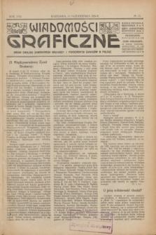 Wiadomości Graficzne : organ związku zawodowego drukarzy i pokrewnych zawodów w Polsce. R.17 [i.e.16], № 13 (15 października 1924)
