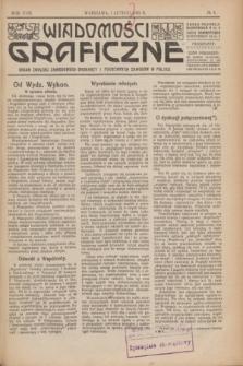 Wiadomości Graficzne : organ związku zawodowego drukarzy i pokrewnych zawodów w Polsce. R.18 [i.e.17], № 3 (1 lutego 1925)