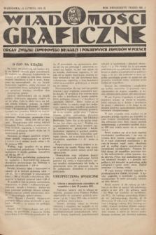 Wiadomości Graficzne : organ związku zawodowego drukarzy i pokrewnych zawodów w Polsce. R.23, nr 5 (15 lutego 1931)