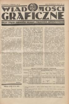 Wiadomości Graficzne : organ związku zawodowego drukarzy i pokrewnych zawodów w Polsce. R.25, nr 15 (5 sierpnia 1932)